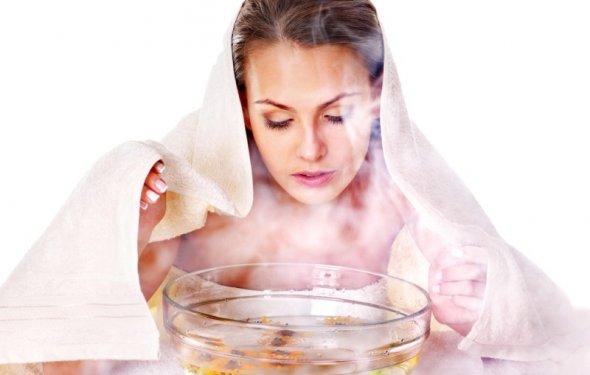 Паровая баня для лица с