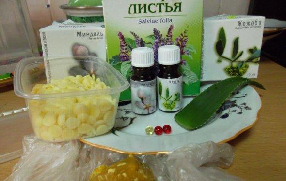 Ingredientu dlya krema