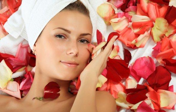чайной розы в косметологии
