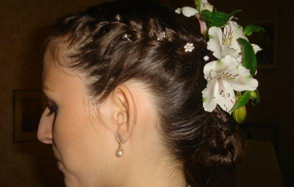 Свадебный макияж прическа киев